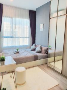 For RentCondoRamkhamhaeng, Hua Mak : For rent knight bridge collage ramkamhang 1 bed 1 multipurpose room 1 bedroom 1 multipurpose room