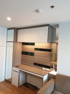 For SaleCondoRama9, RCA, Petchaburi : ขายคอนโด ลุมพินี พาร์ค พระราม 9-รัชดา 30 ตรม. ชั้น 16 ตึก A ห้องวิวสระ fully furnished built-in (By Noble Furniture)