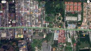 For RentLandChengwatana, Muangthong : Land for rent 2 rai, next to Samakkhi Road, Chaengwattana, Pak Kret.