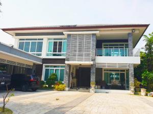 For SaleHouseRangsit, Patumtani : 2 storey detached house for sale NC On Green Charm Lam Luk Ka Rangsit - Klong 4   Thanya Golf Course