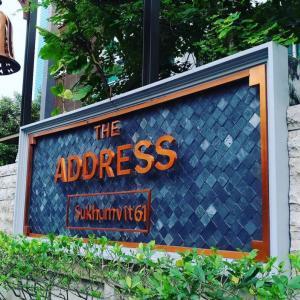 For SaleCondoSukhumvit, Asoke, Thonglor : The Address sukhumvit 61