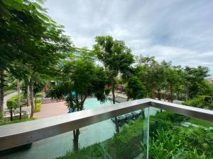 For SaleCondoHua Hin, Prachuap Khiri Khan, Pran Buri : อมารี หัวหิน คอนโดฯ พร้อมอยู่ 5 นาทีจาก cicada วิวสระน้ำและสวน 1 ห้องนอน 45 ตรม. ชั้น 2