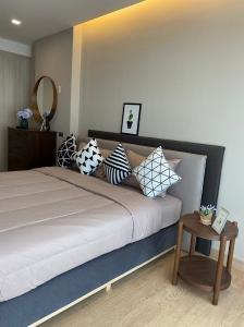 For RentCondoPattaya, Bangsaen, Chonburi : Condo Chonburi, Sriracha, next to Central Department Store, fully furnished room fully furnished