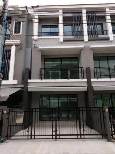 For RentTownhouseRathburana, Suksawat : Houses for rent Baan Klang Muang Project Sathorn - Suksawat, near Central Rama 3