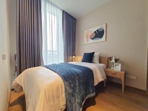 For RentCondoSukhumvit, Asoke, Thonglor : 3116-A😊 For RENT 2 bedroom for rent 🚄 near BTS Phrom Phong 🏢 Park Origin Phrom Phong 🔔 Area: 52.00 sq.m. 💲 Rent: 40,000 ฿ 📞O86-454O477, O99-5919653✅LineID: @sureresidence