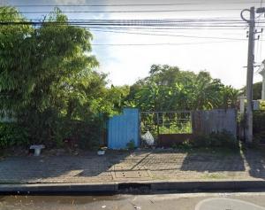 For SaleLandThaphra, Wutthakat : Slj036 land for sale on the main road, 5 rai 44 sq m, Ratchapruek road.