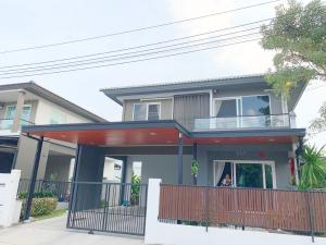 For RentHouseBangbuathong, Sainoi : ✨✨ For rent and quick sale !!!! 2-storey detached house, Chaiyapruek Village, Pinklao-Kanchana Soi Kantana, size 54 sq.w., 3 bedrooms, 3 bathrooms, near Central Westgate and BTS, ready to move
