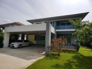 For SaleHouseNakhon Pathom, Phutthamonthon, Salaya : House for sale at Habitia Line Phutthamonthon Sai 2  Fully furnished and electrical appliances 10.5 million baht