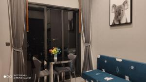 For SaleCondoOnnut, Udomsuk : M3410-Condo for sale and rent, The Line Sukhumvit 101, near BTS Punnawithi, new room. There is a washing machine, fully furnished,  ready to move in