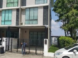 เช่าทาวน์เฮ้าส์/ทาวน์โฮมเสรีไทย-นิด้า : For Rent ให้เช่าโฮมออฟฟิศ / ทาวน์โฮม 3 ชั้น หลังมุม โครงการพฤกษาวิลล์ ซอยเสรีไทย 81 แอร์ 4 เครื่อง อยู่อาศัย หรือ เป็นสำนักงานจดบริษัทได้