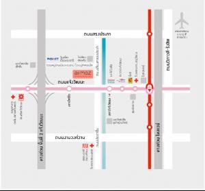 เช่าคอนโดแจ้งวัฒนะ เมืองทอง : Atmoz แจ้งวัฒนะ 171/21 ชั้น2 ตึก Aวิวริมคลองประปา