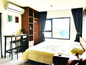 For SaleCondoThaphra, Wutthakat : For Sale Aspire Sathorn-Ratchapruek  Studio , size 26 sq.m., Beautiful room, fully furnished.