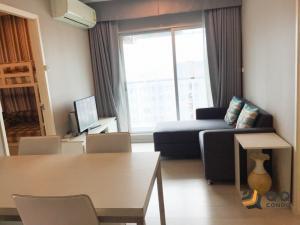 ขายคอนโดท่าพระ ตลาดพลู : ขาย Aspire Sathorn-Taksin (Timber Zone) ขนาด 46 ตร.ม. 2 ห้องนอน BTS วุฒากาศ
