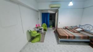 For SaleCondoBangbuathong, Sainoi : Fully furnished, carry the bag and move in. Condo Condo Than Fah Residence