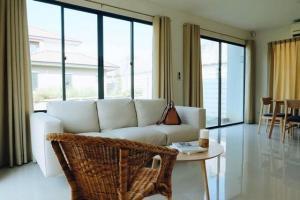 For RentHouseRama 2, Bang Khun Thian : 2 storey detached house for rent Near Central Rama 2 Habitia Park Tien Talay 28