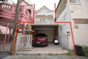 For SaleTownhouseRangsit, Patumtani : House for sale Lam Luk Ka Klong 2, townhouse 2 floors Soi Sema Fa Khram Pathumthani Province