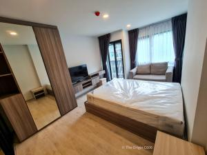 For RentCondoBangna, Lasalle, Bearing : ✅ For rent, The Origin Sukhumvit 105, near BTS, size 23 sq.m., fully furnished and electrical appliances ✅