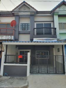 ขายทาวน์เฮ้าส์/ทาวน์โฮมพระราม 5 ราชพฤกษ์ บางกรวย : ขายทาวน์เฮ้าส์ 2 ชั้น #หมู่บ้านศุภากร ถนนบางกรวย - ไทรน้อย ต่อเติมใหม่ ปูแกนิโต้บน+ล่าง #ถนนเมนค้าขายได้นะคะ