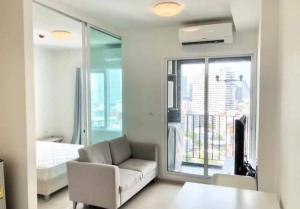 For RentCondoRatchadapisek, Huaikwang, Suttisan : Condo for rent Chapter One Eco Huay Kwang, size 1 bedroom, very good price