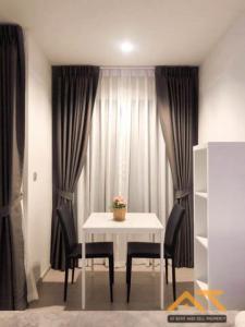 For RentCondoRama9, RCA, Petchaburi : For rent  Life Asoke - Rama 9  Studio , size 26 sq.m., Beautiful room, fully furnished.