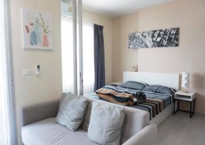 For RentCondoBang Sue, Wong Sawang : Urgent rental, very good price, warm tone decoration, not hot Chapter One Shine Bangpo