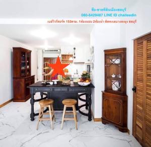 For SaleCondoPattaya, Bangsaen, Chonburi : Condo for sale on the beach, Banglamung, area 153 sq m., 1 bedroom, 2 bathrooms, Pattaya, Chonburi