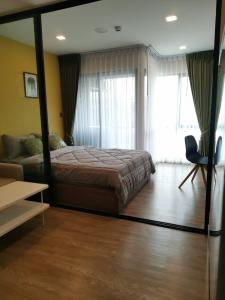 For RentCondoRangsit, Patumtani : 327. For rent KAVE TOWN SHIFT, beautiful new room, newest condo, next to Bangkok University, walking distance to school