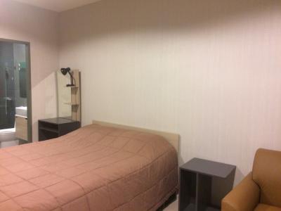 For RentCondoSamrong, Samut Prakan : Studio room for rent on the 25th floor, size 28 sqm