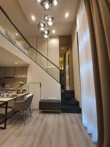 For RentCondoSapankwai,Jatujak : The Reserve Phaol-Pradipat nice duplex one-bedroom for rent
