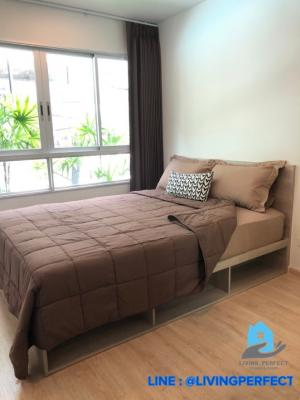 For RentCondoKasetsart, Ratchayothin : For rent Elio del moss, 1 bed plus pool access room, luxury condo, re-teaching style, near Kasetsart University + BTS🎉
