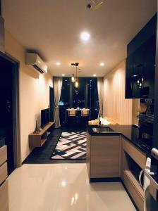 For RentCondoRama9, RCA, Petchaburi : 📌 (Condo for rent) The Line Asoke Ratchada * beautiful room * good location near the train station Fully furnished Complete electrical appliances