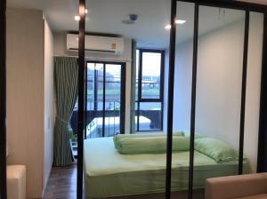 For RentCondoChengwatana, Muangthong : Condo for rent Atmoz Chaengwattana, 2nd floor, size 22.5 sq m, fully furnished with washing machine.