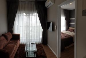For RentCondoSamrong, Samut Prakan : #Condo for rent, Notting Hill, Sukhumvit - Praksa (25th floor) negotiable price. Chao Phraya River view