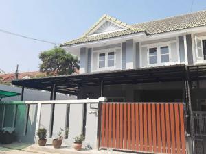 ขายบ้านบางใหญ่ บางบัวทอง ไทรน้อย : บ้านแฝด 2 ชั้น  แปลงริม #โครงการพฤกษา30/1 สภาพแวดล้อมน่าอยู่