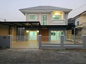 ขายบ้านบางใหญ่ บางบัวทอง ไทรน้อย : บ้านเดี่ยวตกแต่งใหม่พร้อมอยู่ #หมู่บ้านปิยวรารมย์ #พิกัดบ้านกล้วย-ไทรน้อย