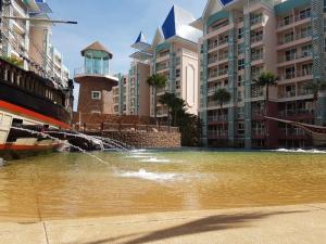For SaleCondoPattaya, Bangsaen, Chonburi : Leave a good price 🚩 Condo for sale Grand Caribbean Pattaya