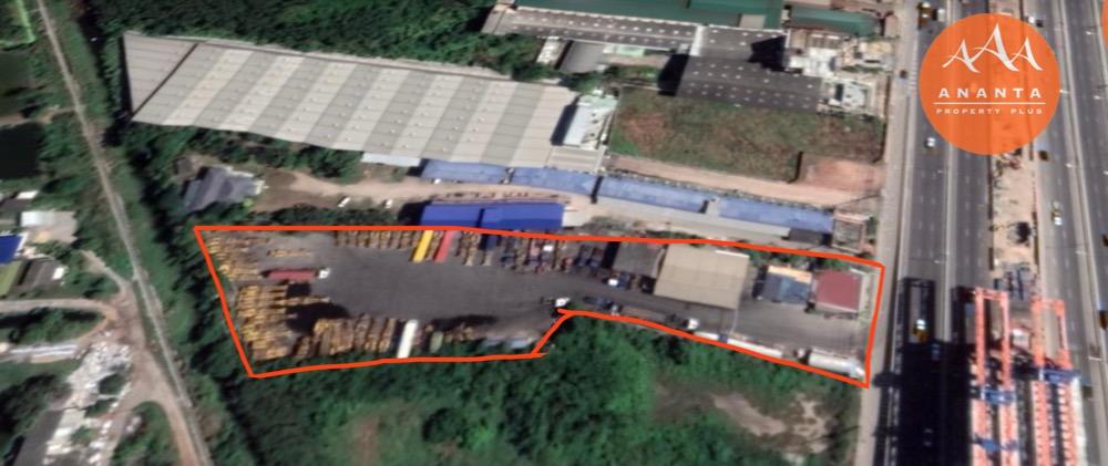 For SaleLandRama 2, Bang Khun Thian : Land for sale in prime location, 5 rai, next to Rama 2 main road.