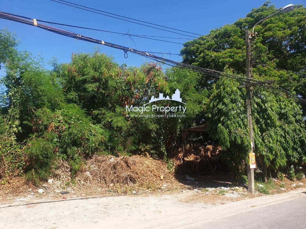 For SaleLandOnnut, Udomsuk : Land for sale 1 rai 17 sq.w., Soi Sukhumvit 93, Bang Chak Subdistrict, Phrakhanong District, Bangkok.