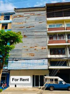 For RentShophouseRama3 (Riverside),Satupadit : Commercial building for rent, golden location, Sathupradit, location on the road, suitable for many types of businesses