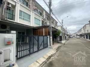 For RentTownhouseNawamin, Ramindra : (For rent) 3-storey townhome, The Plant City Nawamin project