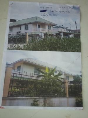 For SaleHouseAyutthaya : House for sale 89 sq.w. Worachet Village