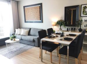 For RentCondoOnnut, Udomsuk : Condo for rent near BTS Phrakanong 1 bedroom with nice furnishing 52 sqm on 22 floor .