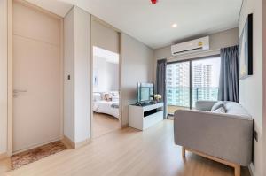 เช่าคอนโดพระราม 9 เพชรบุรีตัดใหม่ : 📌(เช่าคอนโด) Lumpini Suite Phetchaburi-Makkasan *2ห้องนอน กว้าง สวย* ใจกลางเมือง พร้อมอยู่
