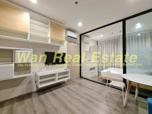 For RentCondoRattanathibet, Sanambinna : Condo for rent politan rive, 49th floor, beautiful view, fully furnished, ready to move in, economical price
