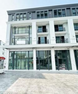 เช่าตึกแถว อาคารพาณิชย์อ่อนนุช อุดมสุข : ให้เช่าอาคารพาณิชย์ โครงการ The Master อ่อนนุช 41 พื้นที่ใช้สอย 369 ตรม.