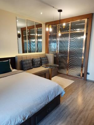 For SaleCondoSukhumvit, Asoke, Thonglor : Sell/rent a beautiful room at Rhythm Ekkamai condo.