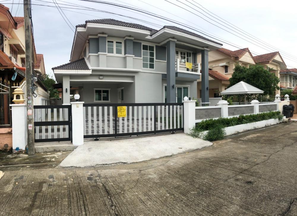 For SaleHouseBangbuathong, Sainoi : 2-storey detached house, Legacy Grand Ville, Area 74 sq m.