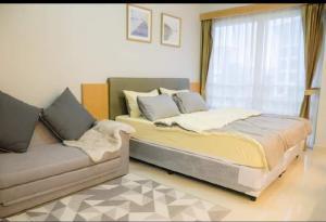 For RentCondoRama9, RCA, Petchaburi : For Rent I-House Laguna Garden RCA