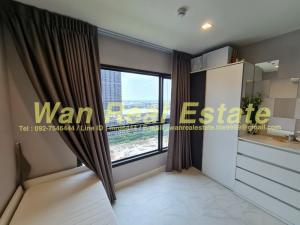 For RentCondoRattanathibet, Sanambinna : Condo for rent, politan aqua, 16th floor, garden view, river pool, fully furnished, multi-purpose, new room, never rent.