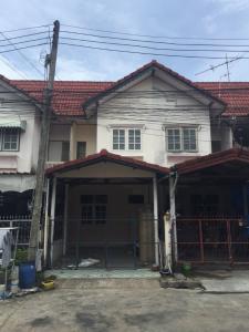 For RentTownhouseRangsit, Patumtani : Rent: Townhouse 🌈 Suan Thong Village, Villa 8, Phra Chao Sai Klong Road, 2 floors, area 16 sq m.